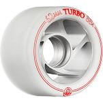 Rollerbones Turbo Wheel Clear Aluminum Hub 62mm 88a 8pk Natural