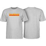 Rollerbones Retro Script T-Shirt - Athletic Heather