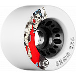 Rollerbones Day of the Dead Speed wheel 62mm x 92a White 4 Pk