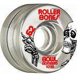 Rollerbones Bowl Bombers Wheels 62mm 103A 8pk Clear