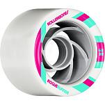 Rollerbones Turbo Rogue Runner Signature Rollerskate Wheel 62mm 88A White 8pk