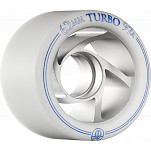 Rollerbones Turbo Wheel Clear Aluminum Hub 62mm 97a 8pk