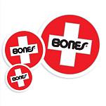 Bones® Bearings Swiss Round Sm Sticker (20 pack)