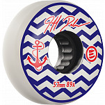 Eulogy Pro Jeff Dalnas Anchor Signature Aggressive Inline Wheel 57mm 89A 4pk White