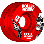 Rollerbones Bowl Bombers Wheels 62mm 101A 8pk Red