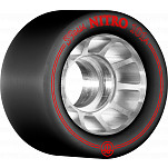 Rollerbones Nitro Wheel 59mm x 101a 8pk Black
