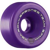 Rollerbones Team Logo 57mm 98A 8pk Purple