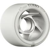 Rollerbones Turbo Wheel Clear Aluminum Hub 62mm 101a 8pk Natural