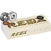 Bones® Ceramic Super REDS® Bearings 8mm 16 pack