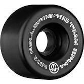Rollerbones Team Logo 57mm 101A 8pk Black