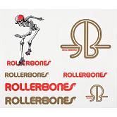 Rollerbones Derby Single Sticker