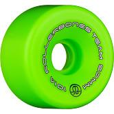 Rollerbones Team Logo 57mm 101A 8pk Green
