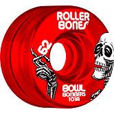 Rollerbones Bowl Bombers Wheels 62mm 101A 8pk Red