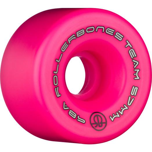 Rollerbones Team Logo 57mm 98A 8pk Pink