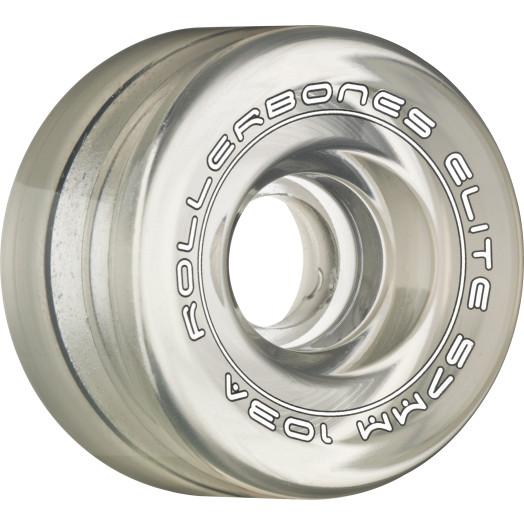Rollerbones Art Elite Competition Wheels 57mm 103A 8pk Clear
