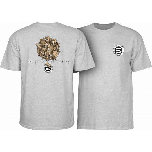 Eulogy 20 Year Anniversary T-shirt Athletic Heather