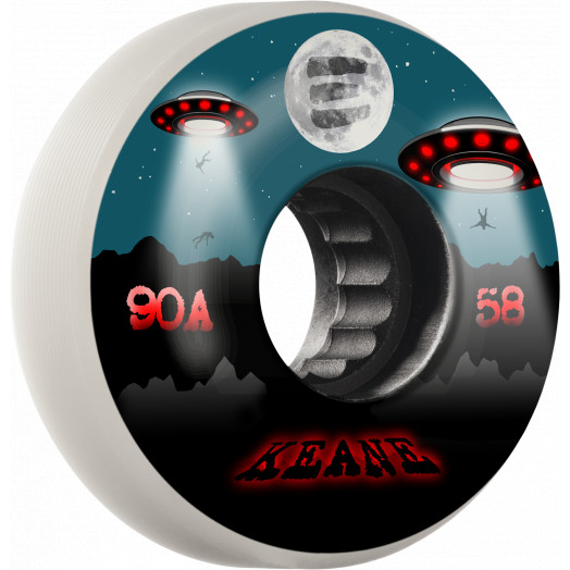 Eulogy Pro Sean Keane Signature Wheel Abduction Aggressive Inline Wheel 58mm x 90A 4pk