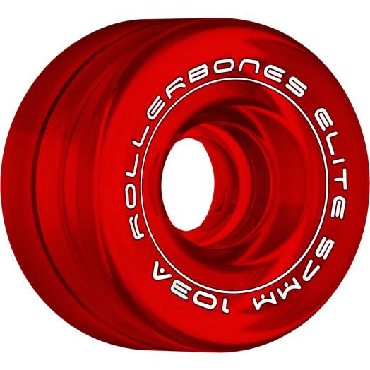 Rollerbones Art Elite Competition Wheels 57mm 103A 8pk Red