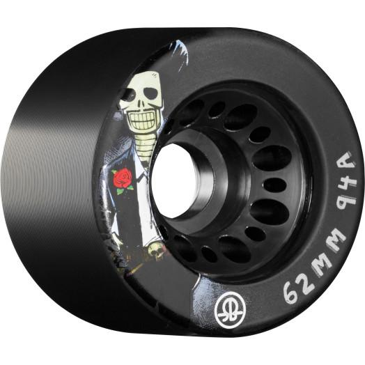 Rollerbones Day of the Dead Speed wheel 62mm x 94a black 4 Pk