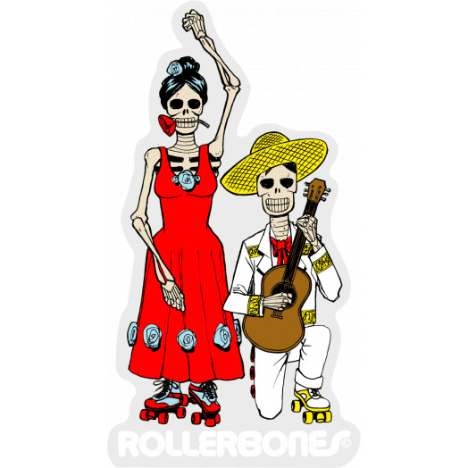 Rollerbones Sticker DOD Couple Dancing Sticker single