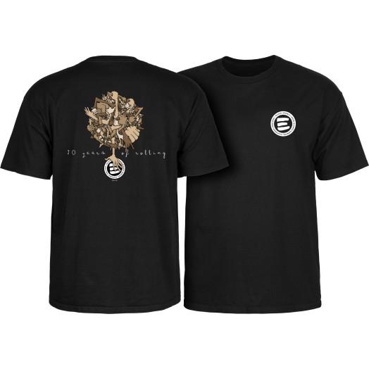 Eulogy 20 Year Anniversary T-shirt  Black