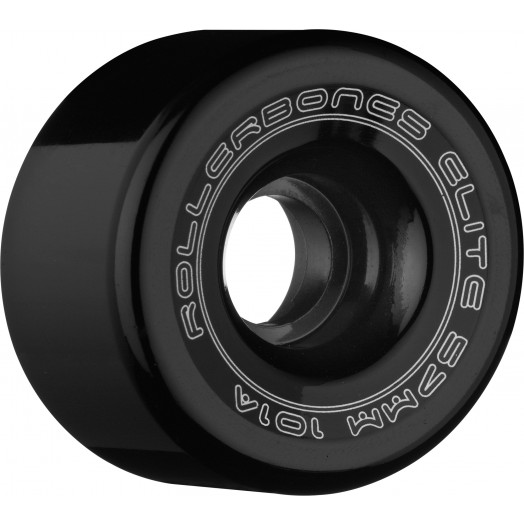 Rollerbones Art Elite Competition Wheels 57mm 101A 8pk Black