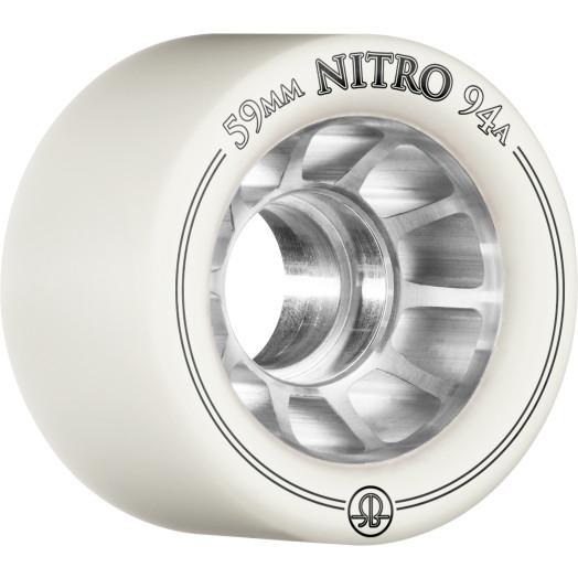 Rollerbones Nitro Wheel 59mm x 94a 8pk White