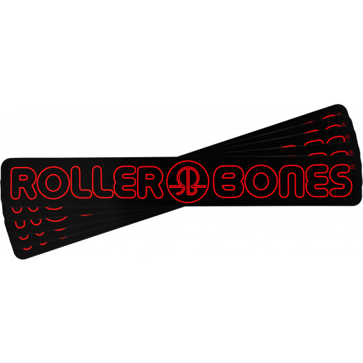 "Rollerbones 7"" Sticker 10pk"